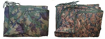 FOX Military Style Army USMC Wet Weather Poncho Liner Woobie Blanket NEW