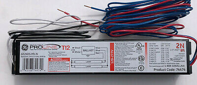 GE260IS-MV-N Electronic Ballast for 2 F96T12 bulbs Multi-Volt ProLine GE 74474
