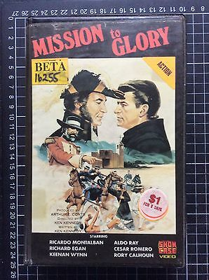 MISSION TO GLORY rare Showcase BETA not VHS Video cult 70s Christian Western