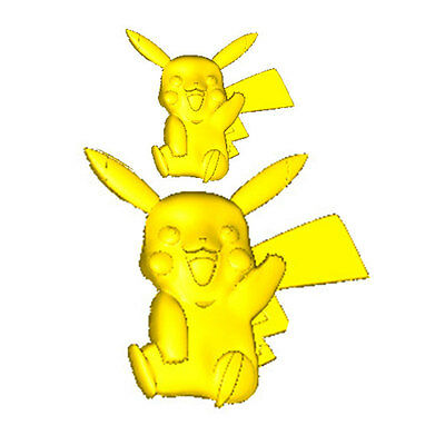 Pikachu Silicone Cake Chocolate Cookies Bread Decorating Baking Kitchen Mould