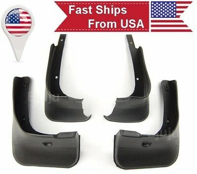 OE 4Pcs Front Rear Fender Splash Guards Mud Flaps For 09-13 Toyota Corolla