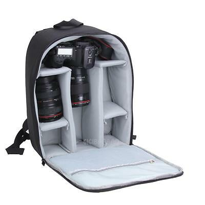 DSLR Waterproof Camera Backpack Bag Case for Canon Nikon Sony Weather Cover New
