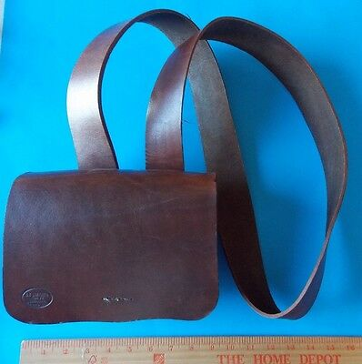 Very Nice Leather Pack With Straps For Civil War Reenactment! Stidham Estate