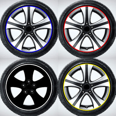 Trendy Modified Decorative Decals For Car Tire Rim Paste Wheel Reflector I6
