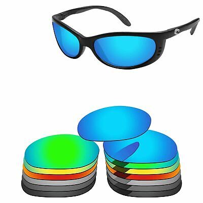 Polarized Replacement Lenses For-Costa Del Mar Fathom Sunglasses Multi - Options