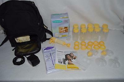 Medela Breast Pump In Style Advanced Backpack Electric Double Extra Accessories