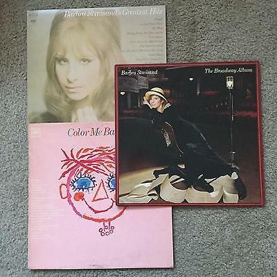 BARBRA STREISAND  Assorted Titles  LOT of 6   LP Vinyl VG++/NM  Cover VG++