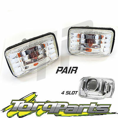Crystal Indicators Suit Toyota 100 Series Landcruiser Side Guard Blinker Altezza