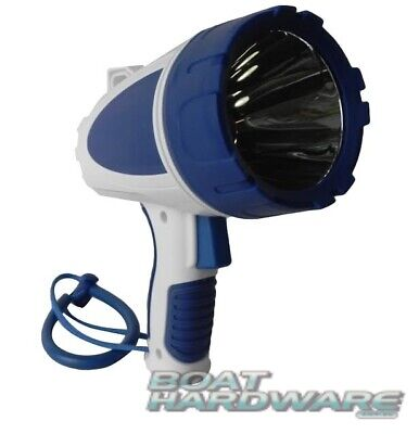 Waterproof Rechargable Boat 550 LED SPOTLIGHT TORCH Runs 11 hrs Ultra Bright