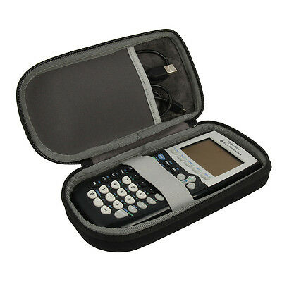 For Graphing Calculator Texas Instruments TI-84 / Plus CE Hard EVA Storage Case