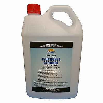 5L, Isopropyl Alcohol,Isopropanol 100%,Rubbing Alcohol,IPA