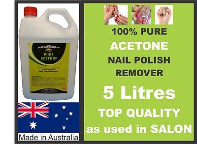 5 Litres & FREE 750ML, ACETONE 100% PURE,NAIL POLISH REMOVER,PAINT/GEL REMOVER