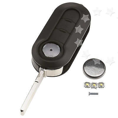 3 Button Remote Key Fob Case Repair Kit For Citroen Jumper Relay