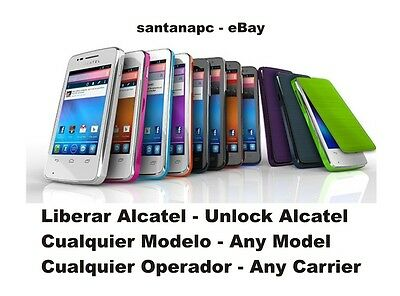 LIBERAR VODAFONE SMART MINI ALCATEL V875 SMART 3 - V975 - Smart 4 mini V785 V685