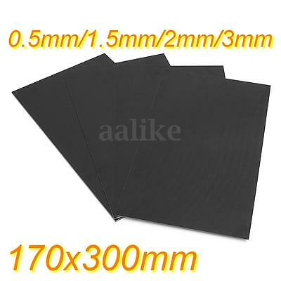 170 x 300mm Glassfibre Sheet Epoxy Glass G10 FR4 Fibreglass Plate 0.5 to 3mm