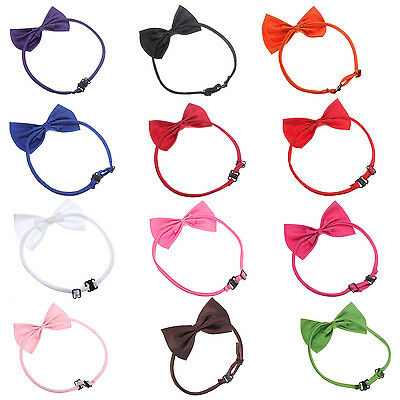 Cat Adjustable Collar pet bow tie Pet Dog Necktie Bow Tie Puppy Accessory SP