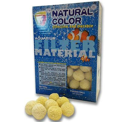 Premium Porous Ceramic Bio Balls - Filter Media Aquarium Fish Tanks 500g - 4kg