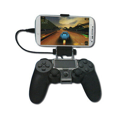 Wireless Keyboard with Phone Bracket Holder for Sony PS4 Controller GamePad
