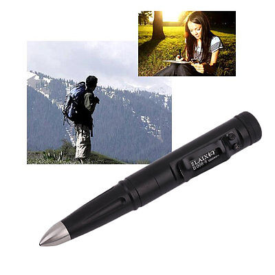 Stainless Steel Silicon Nitride Tip Head Tactical Pen Self Defense Laix B008 GT