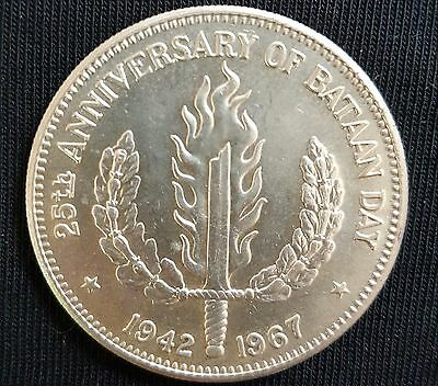 1967 Philippines - 1 Peso (Crown Size) Silver Coin UNCIRCULATED (Prooflike)...