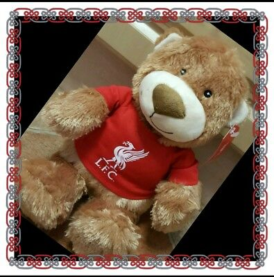 Liverpool Official Traditional Brown Teddy Bear - Great Gift Idea!