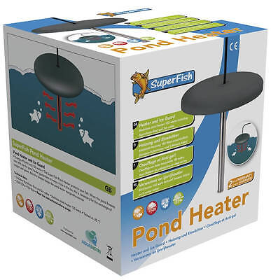 Superfish Pond Heater 150W, Heater & Ice Guard