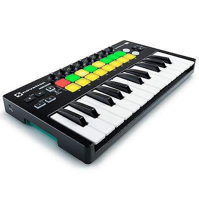 Novation Launchkey Mini MK2 - 25 Minitasten USB Controller Keyboard