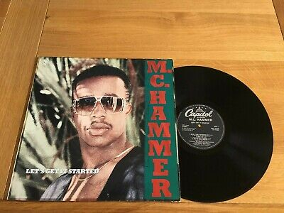 MC Hammer-let's get it started.lp