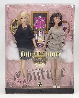 Barbie Juicy Couture Beverly Hills G & P Gold Label Nib