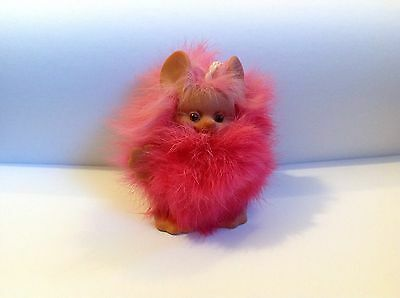 "Rare Rauls Mouse / Mole Troll Bright Pink Excellent Condition 3.5"" 1968 Vintage"
