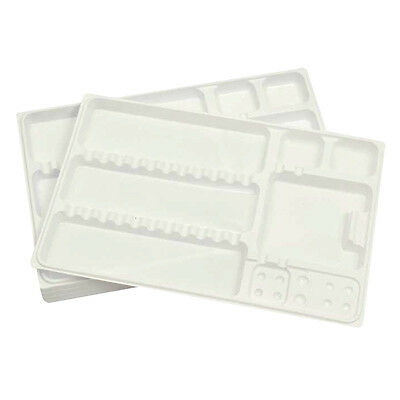 Disposable Instrument trays Dental or Beauty use White 180mm x 280mm