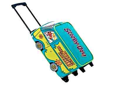 New Official Scooby Doo Boys Girls Kids Wheeled Case Luggage Suitcase Travel Bag