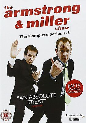 The Armstrong & Miller Show: Complete Series 1 - 3 Box Set: New DVD