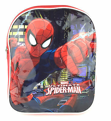Official Marvel Ultimate Spiderman Kids Backpack Rucksack Nursery School Bag