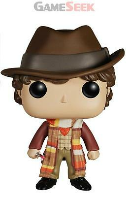 Pop Vinyl Dr Who Dr #4 - Figures Gaming Brand New Free Delivery