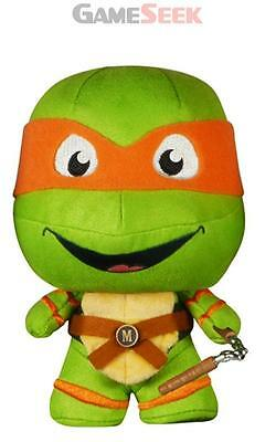 Tmnt Michelangelo Fabrikation Plush - Figures Gaming Brand New Free Delivery