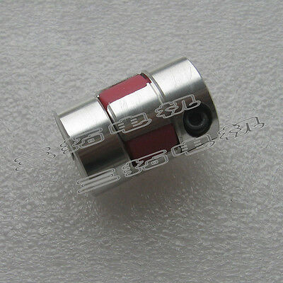 CNC Flexible Plum Coupling Jaw Shaft Coupler Connect 6/7/8/10/12mm For Motor