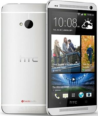 "HTC One M7 32GB Dual Camera 5"" DISPLAY 4G LTE Unlocked Brand NEW Phone sealpack"