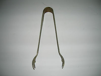 Sugar Tongs  Possibly Silver  Manufacturer Unknown