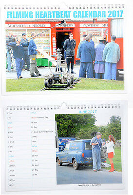 FILMING HEARTBEAT CALENDAR 2017 photos of filming tv series Heartbeat, Goathland