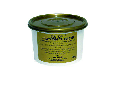 Gold Label Show White Paste - Showing