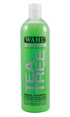 Wahl Showman Tea Tree Shampoo - Shampoos & Conditioners