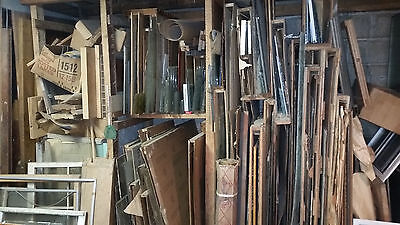 Lot of Vintage window glass