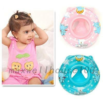 New Baby Child Safety Seat Handle Inflatable Beach Swimming Ring Pool