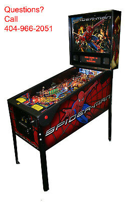 "2007 Stern "" Spider-Man "" pinball machine -NEW OUT OF BOX -You read that right!"