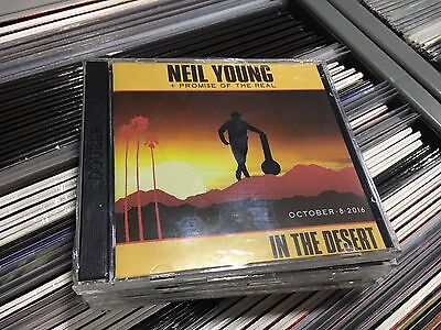 Neil Young  Cd Live In The Desert 08/10/2016