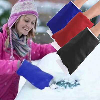 Winter Car Snow Shovel Removal Clean Tool Keep Warm Gloves Car Accessories I6