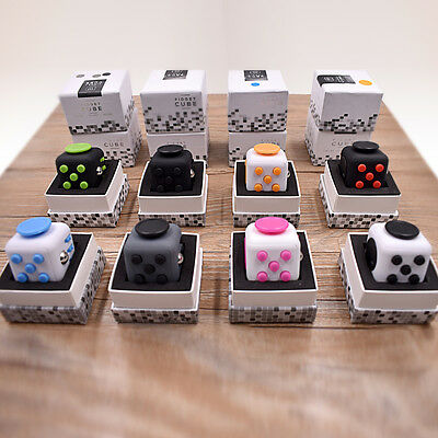New Style Magic Cube Fidget Toy for Girls Boys Adults Child Gift Stress Relief