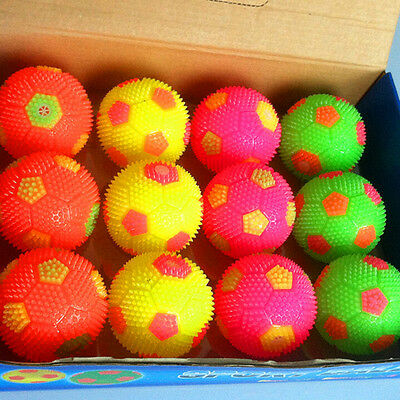 Light Up Sounding Ball Flashing Soccer Balls Toy Gifts with LED   Random