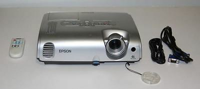 Epson Powerlite S3 3LCD LCD Projector.Power Cord,Remote,Vga Cord, 928 Hours .